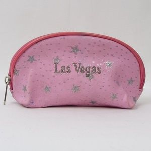 Handbags - Las Vegas Pink with Silver Stars Small Bag